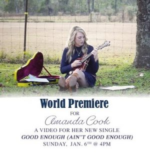 Amanda Cook Debuts Video for New Single: Good Enough (Ain't Good Enough)